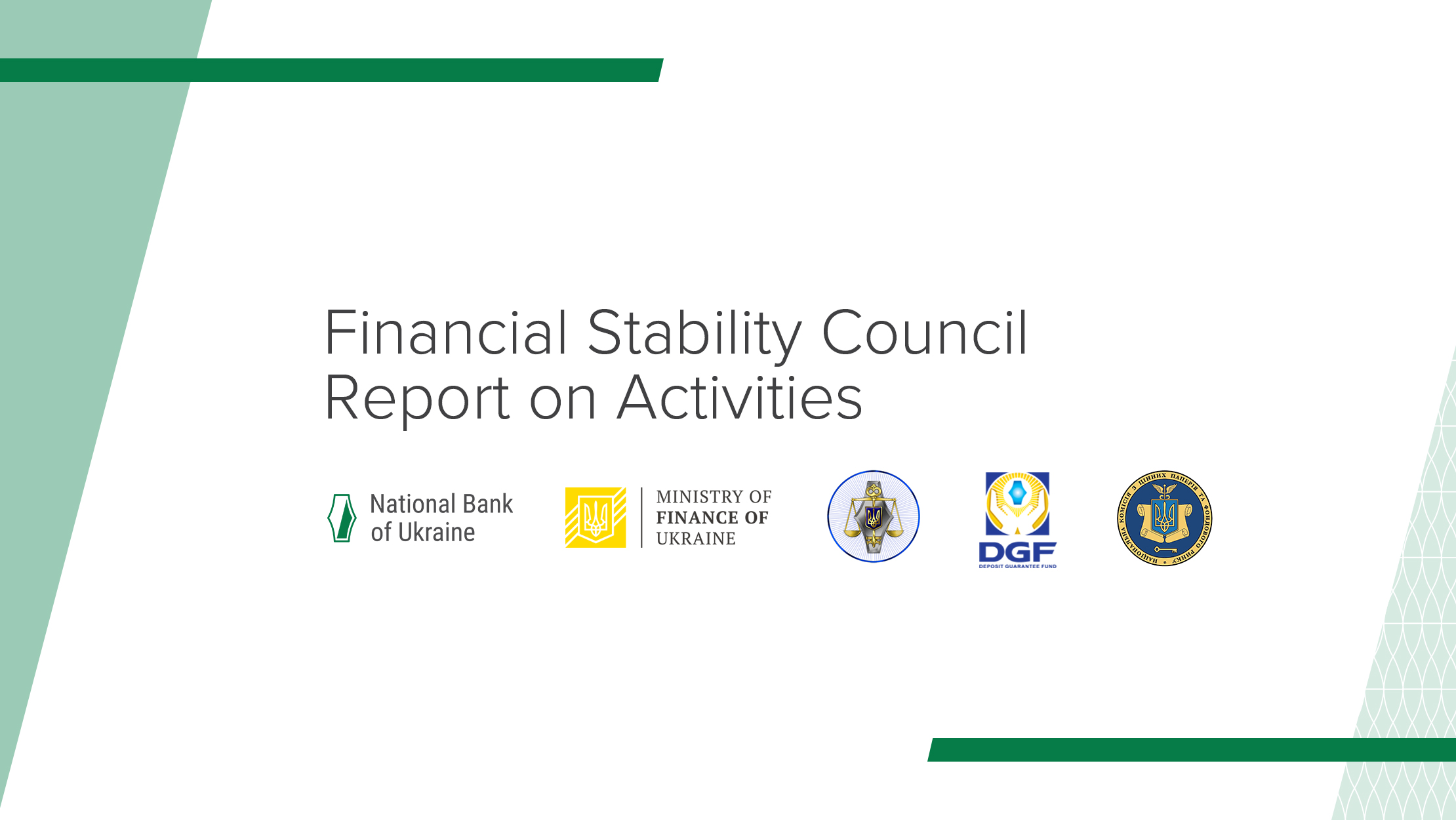 Financial Stability Council Report on Activities (April 2015 – March 2016)